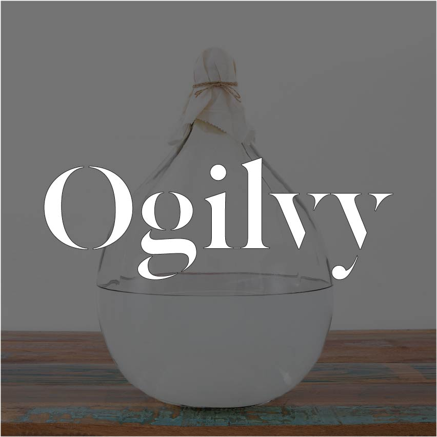 Ogilvy Vodka (40% ABV)